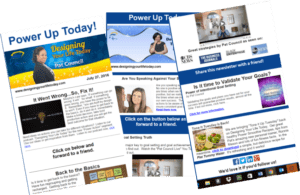 Free Newsletter for Designing Your Life Today