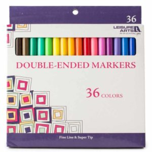 adult coloring pens, double ended markers