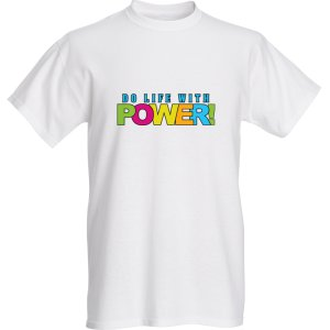 Do Life with Power t-shirt mens