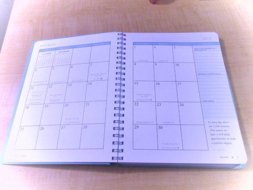 Goal Planner Calendar