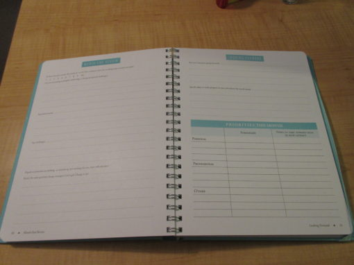 Goal Planner Pages 2019